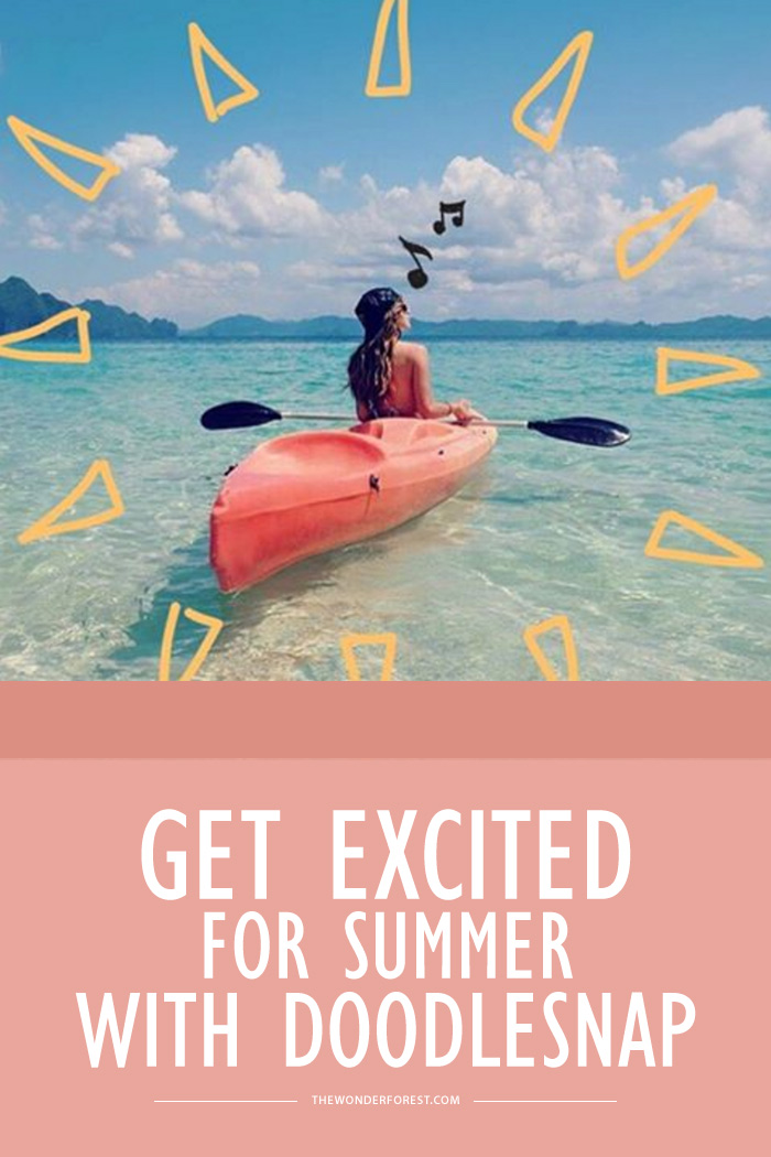 Get Excited for Summer with Doodlesnap