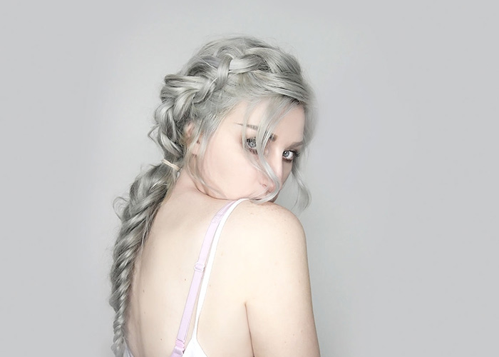 Sterling Silver Hair – Boho Braid Tutorial feat. Bellami