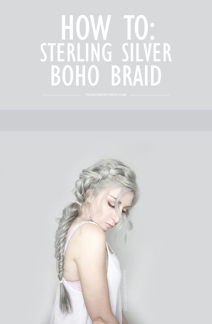 Sterling Silver by Bellami Hair Boho Braid