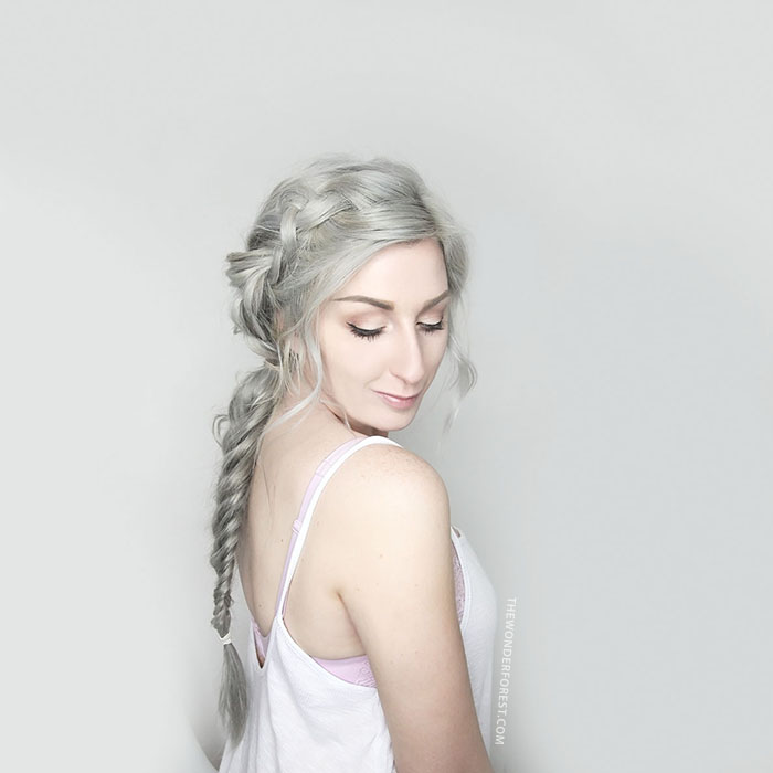 Sterling Silver by Bellami Hair Boho Braid Tutorial