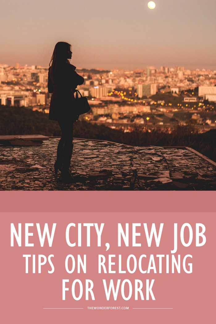New City, New Job: Tips on Relocating for Work