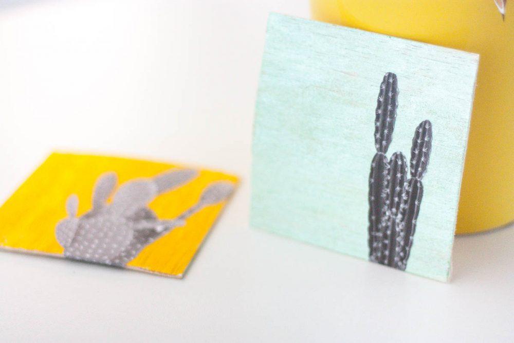 DIY: Quick & Cute Cacti Wall Art