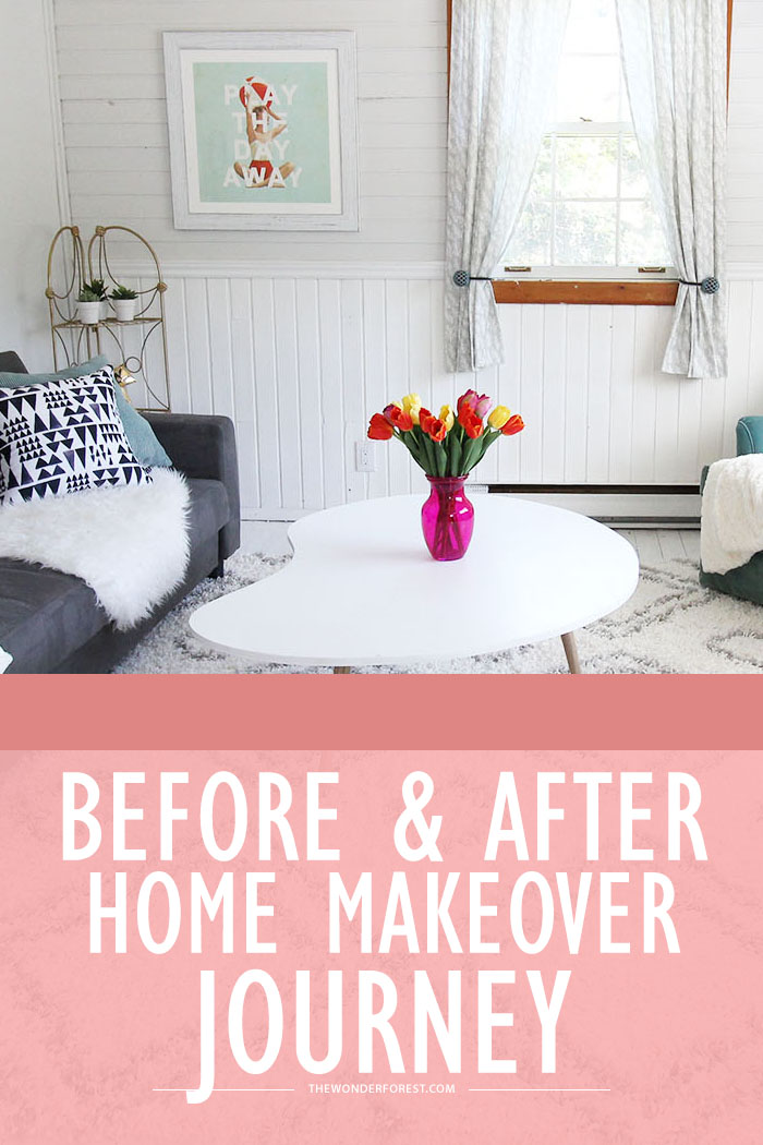 Complete Home Makeover Journey