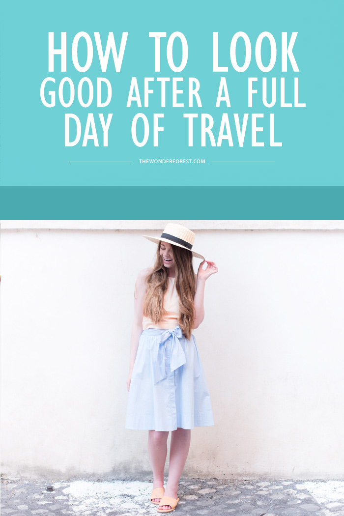 How to Look Good After a Full Day of Travel