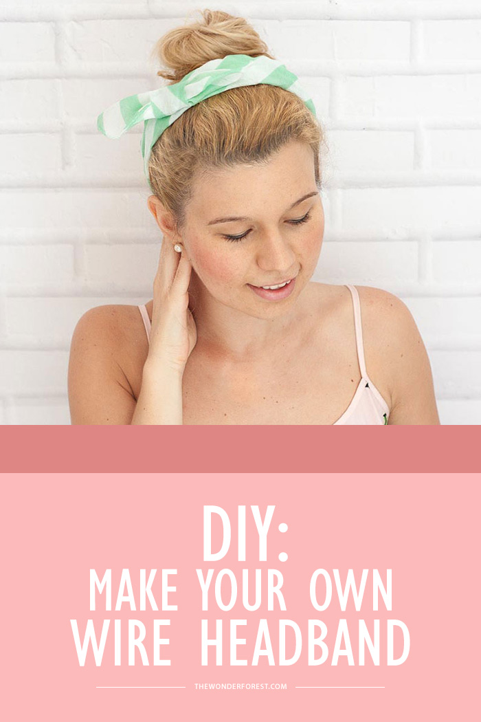DIY: How to Make Your Own Wire Headband