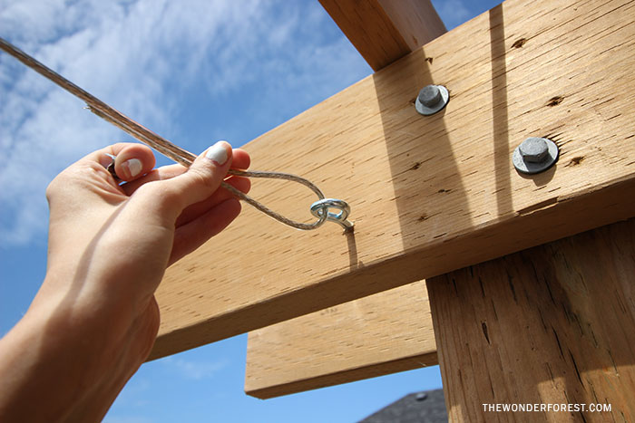 ... How To Make A Canopy For Pergola Shade ...
