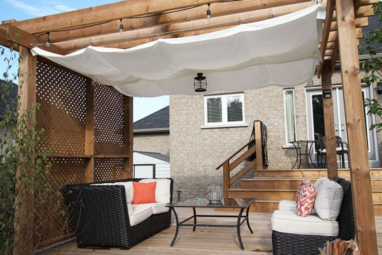 DIY: Retractable Pergola Canopy Tutorial - DIY: Retractable Pergola Canopy Tutorial - Wonder Forest