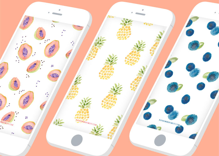 Tech Tuesday: Fruity iPhone Wallpapers