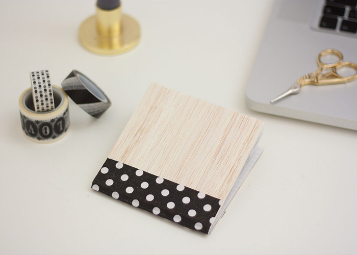 DIY: Make Your Own Wooden Notebook