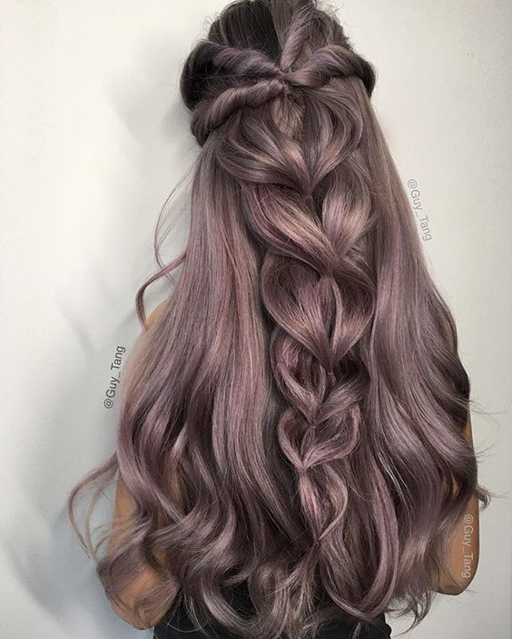 Loose twist braid