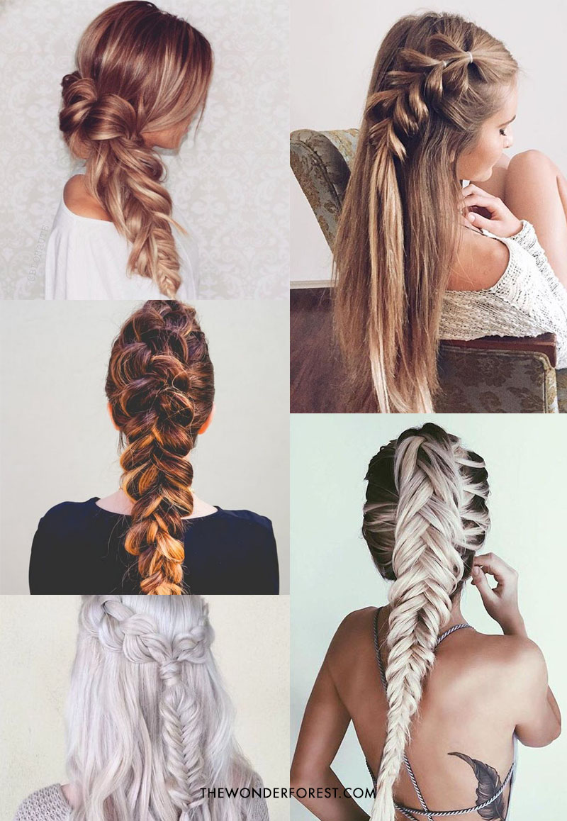 SO many braid options for long hair