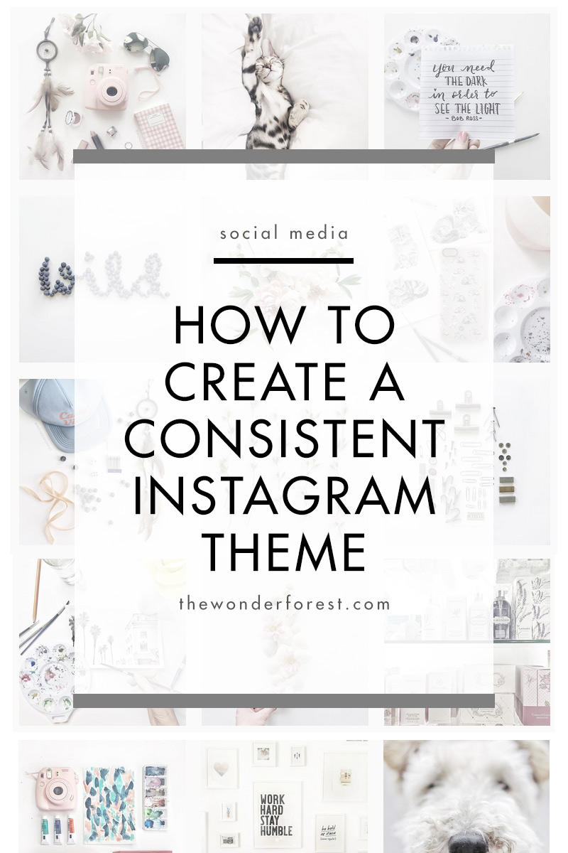 Make your Instagram theme beautiful!