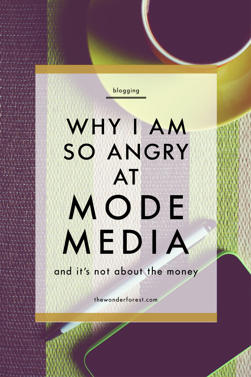 The Mode Media Shut Down... It's not about the money