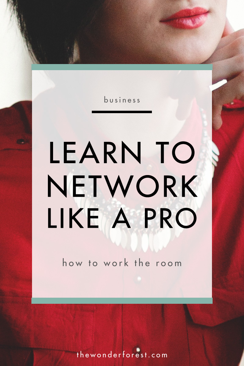 How to Work a Networking Event Like a Pro