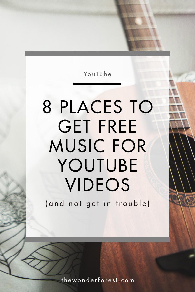8 Places to Get Royalty Free Music for YouTube Videos - Wonder Forest
