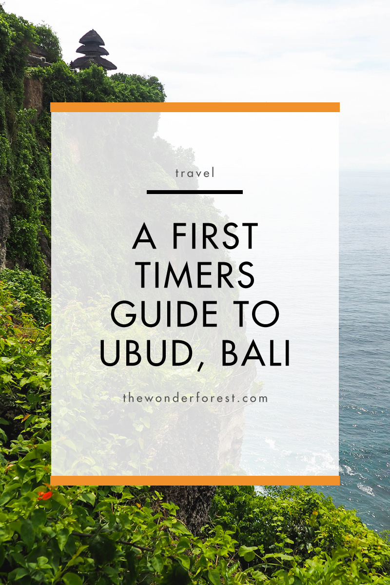 A First Timer's Guide to Ubud, Bali