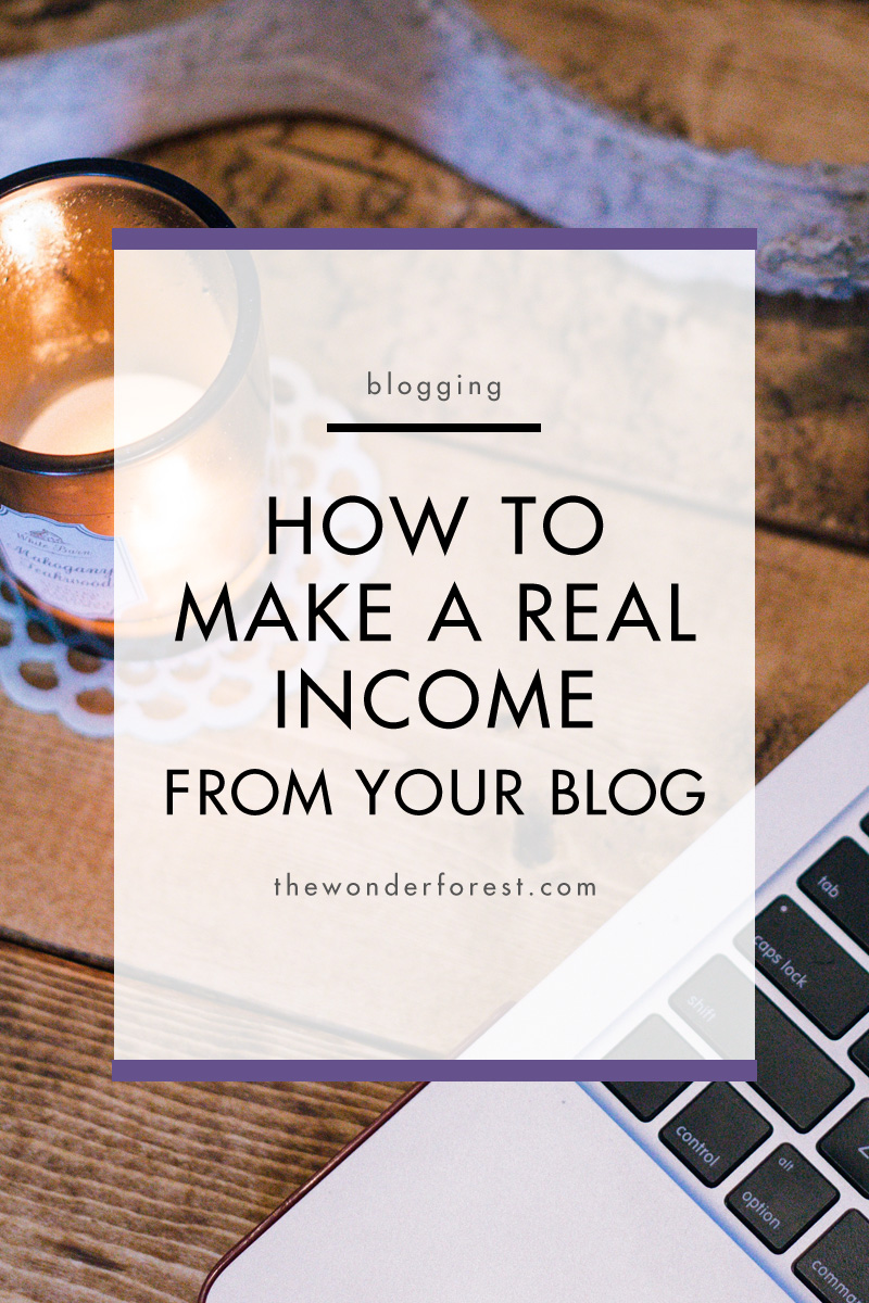 How to Make a Real Income From Your Blog