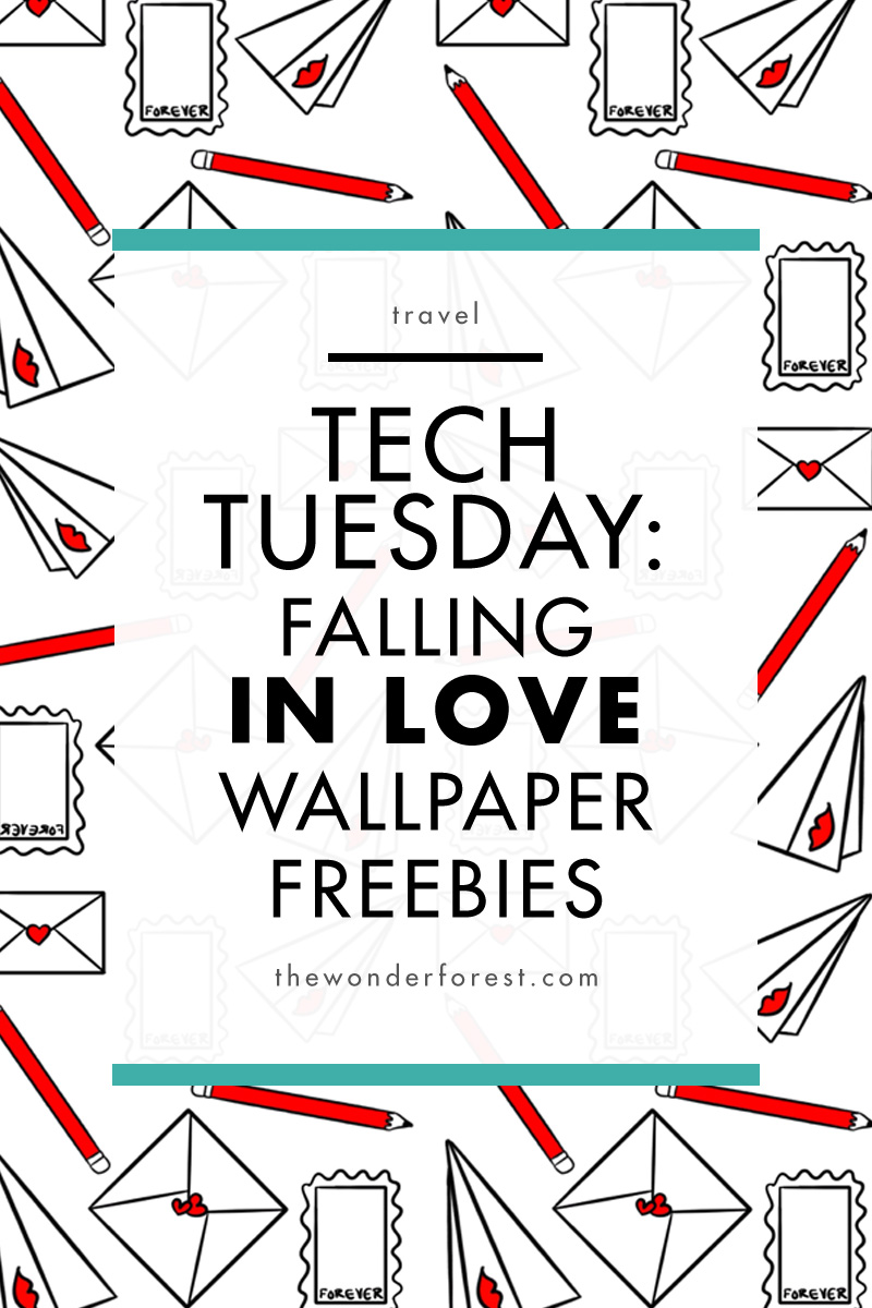 Tech Tuesday: Falling in Love Wallpaper Freebies