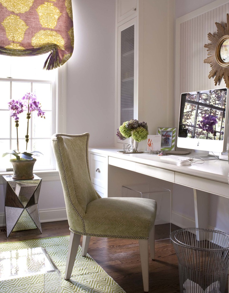 Lavender Home Office