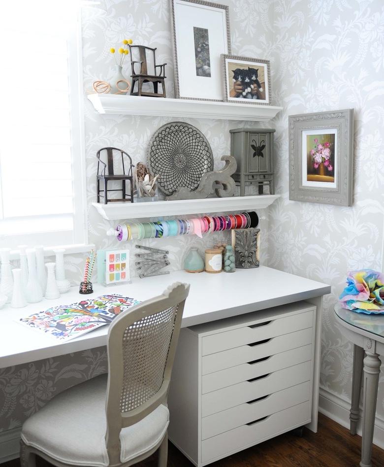 Neutral Inspiring Craft Room