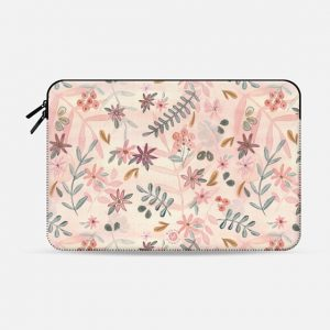 Feminine Floral Macbook Case by Wonder Forest
