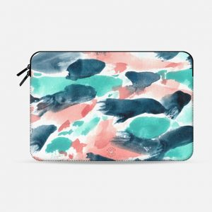 Different Strokes Macbook Case by Wonder Forest