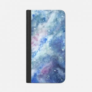 Connecting Stars iPhone Wallet Case by Wonder Forest