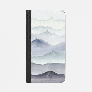 Mountain Mist iPhone Wallet Case by Wonder Forest