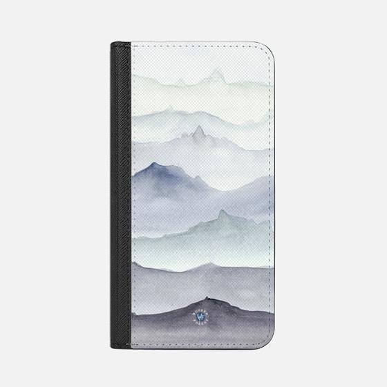 Mountain Mist iPhone Wallet Case by Wonder Forest