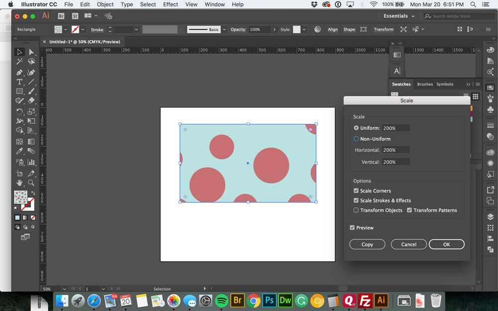 How to Make a Seamless Pattern in Illustrator