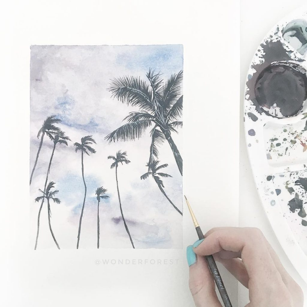 Learn How To Watercolour Paint