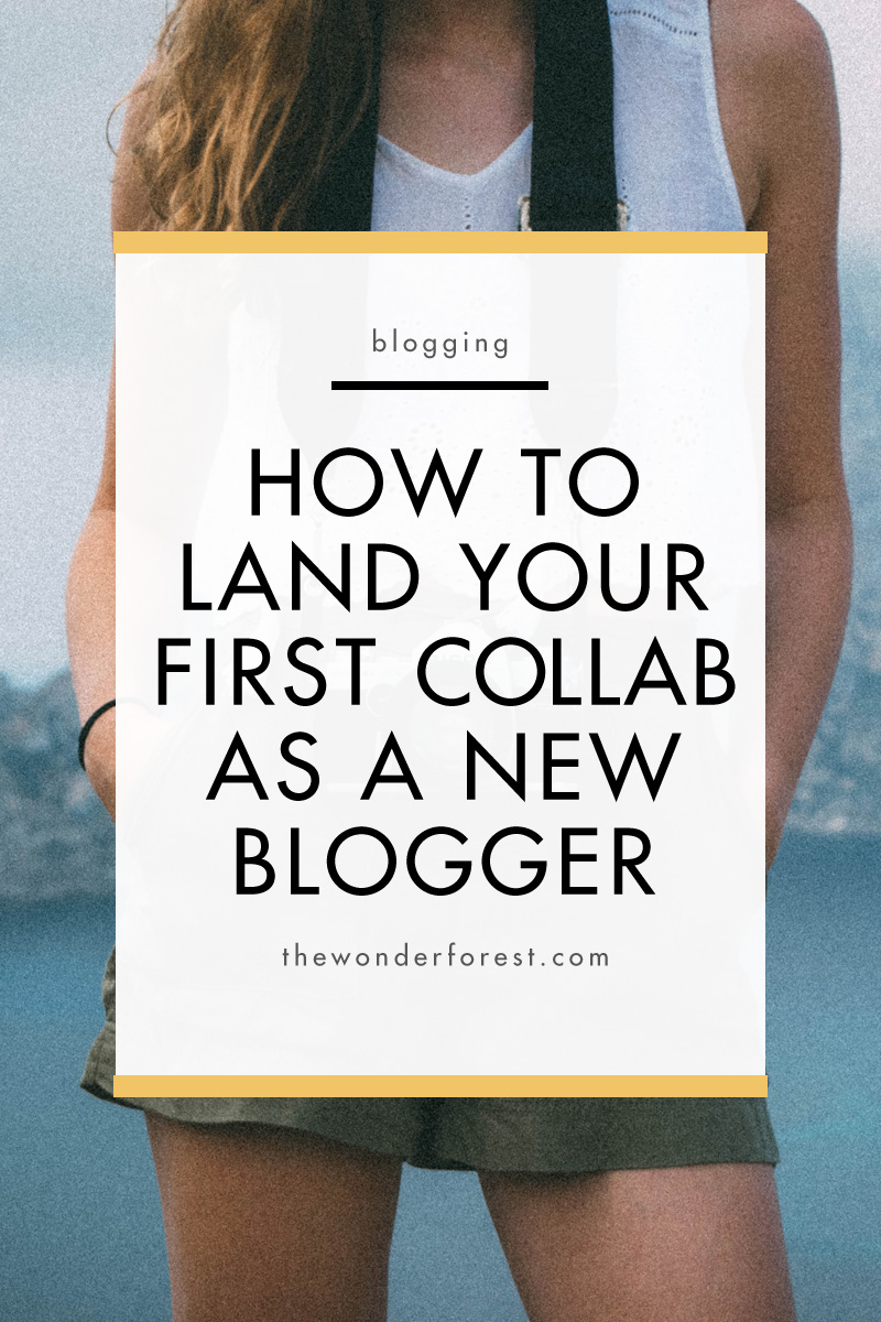 How to Land Your First Collaboration as a New Blogger