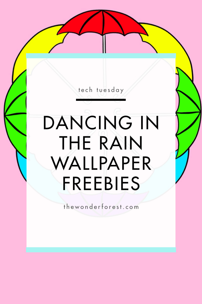 Dancing in the Rain Wallpaper Freebies