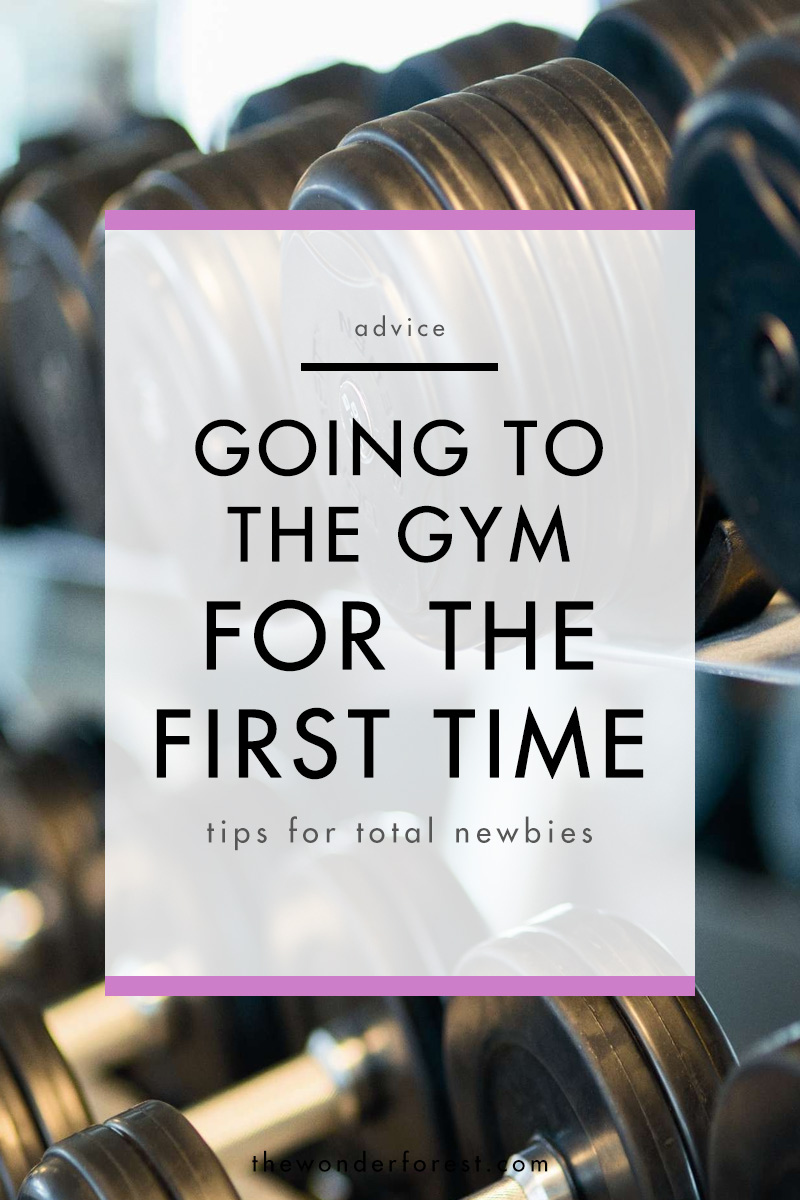 Going to the Gym for the First Time
