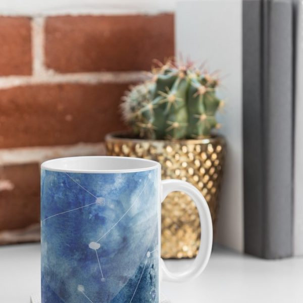 Connecting Stars Mug by Wonder Forest