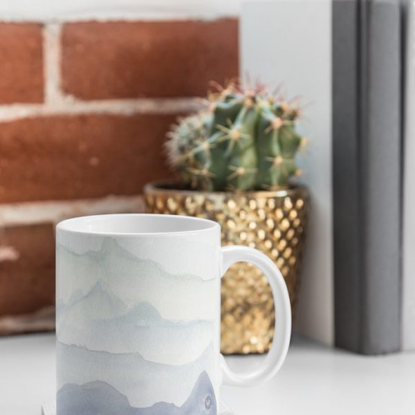 Mountain Mist Mug by Wonder Forest
