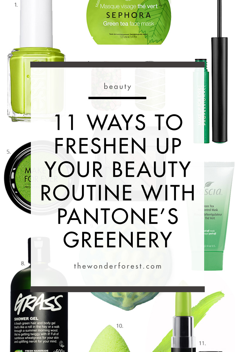 11 Ways to Freshen Up Your Beauty Routine With Pantone's Colour Of The Year
