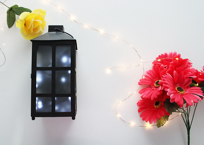 Make This DIY Firefly Outdoor Solar Lantern