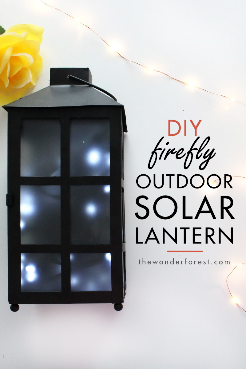 Easy and Cheap Solar Lantern Lighting Idea