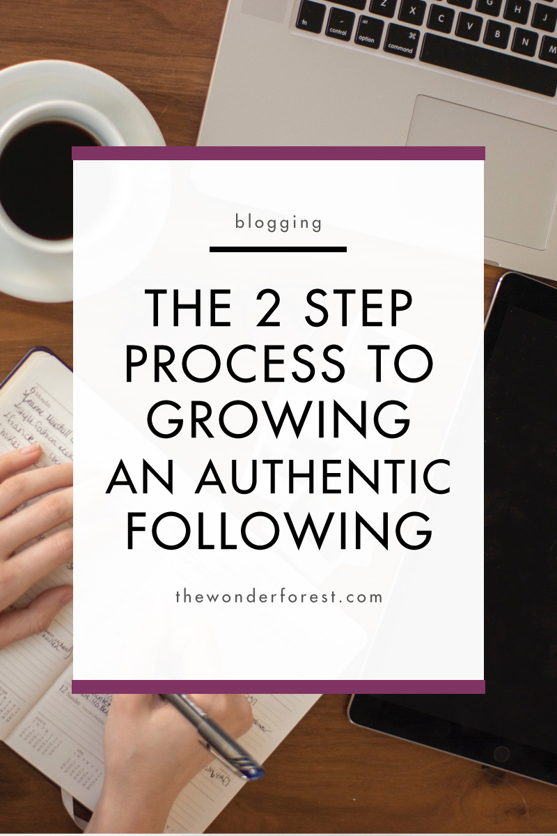 The 2 Step Process to Growing an Authentic Following