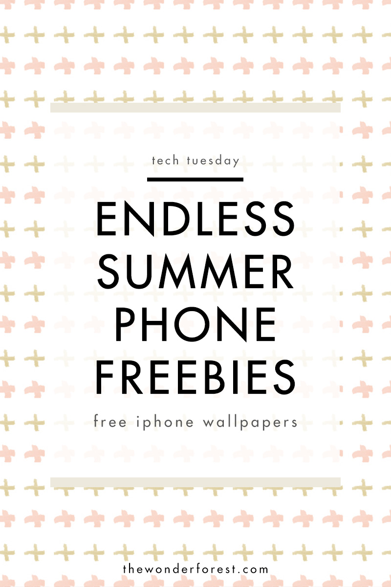 TECH TUESDAY: Endless Summer Phone Wallpapers