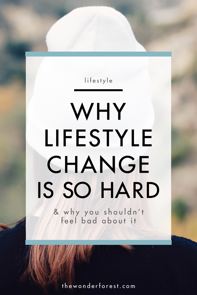 Why Lifestyle Change is so Hard, and Why You Shouldn't Feel Bad About it
