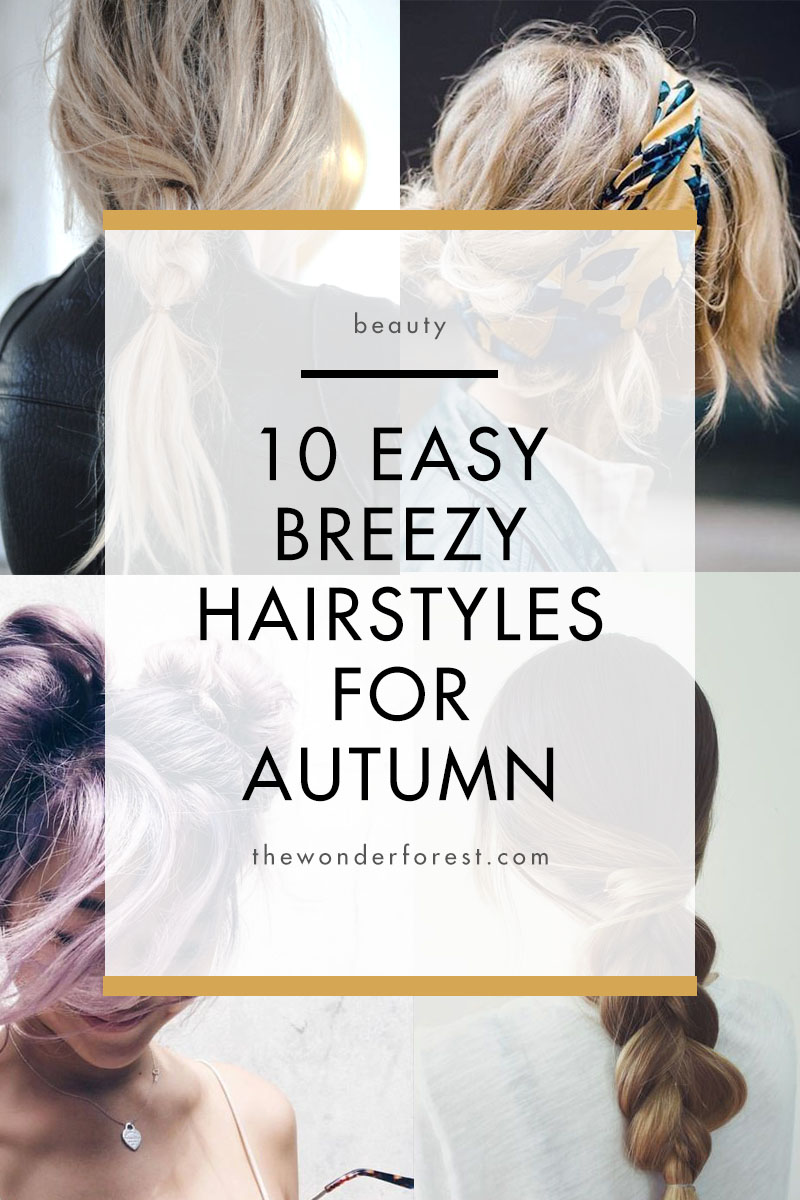 Perfect hairstyles for Fall!