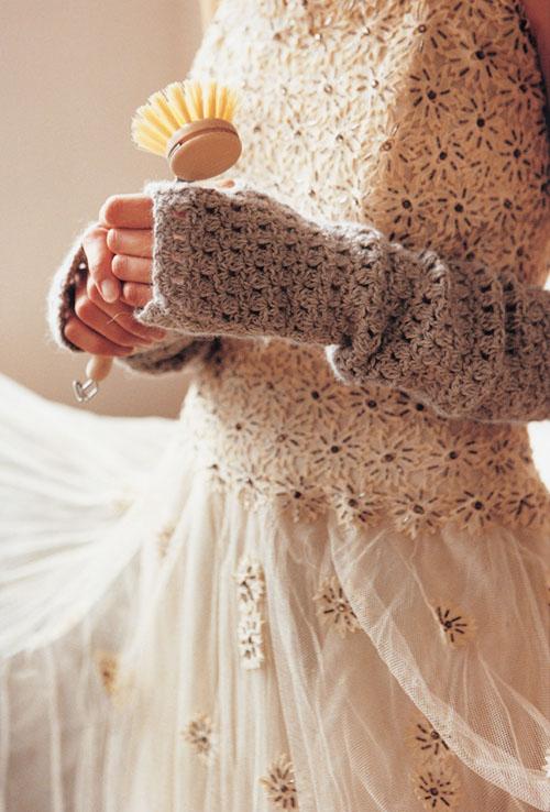 Free Arm Warmer Crochet Pattern