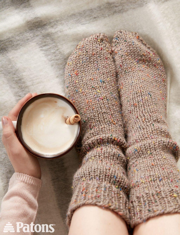 Free Slouchy Socks Crochet Pattern