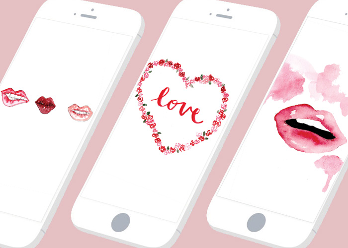 Tech Tuesday: 3 Freebie Phone Wallpapers for Valentine's Day