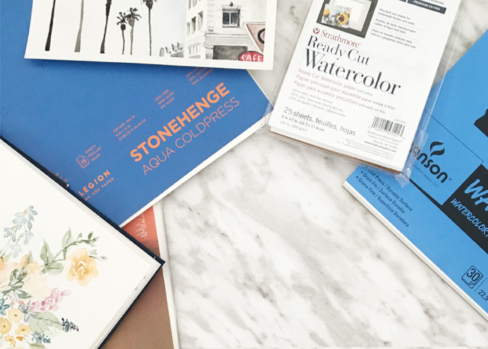 Watercolour For Beginners: All About Paper