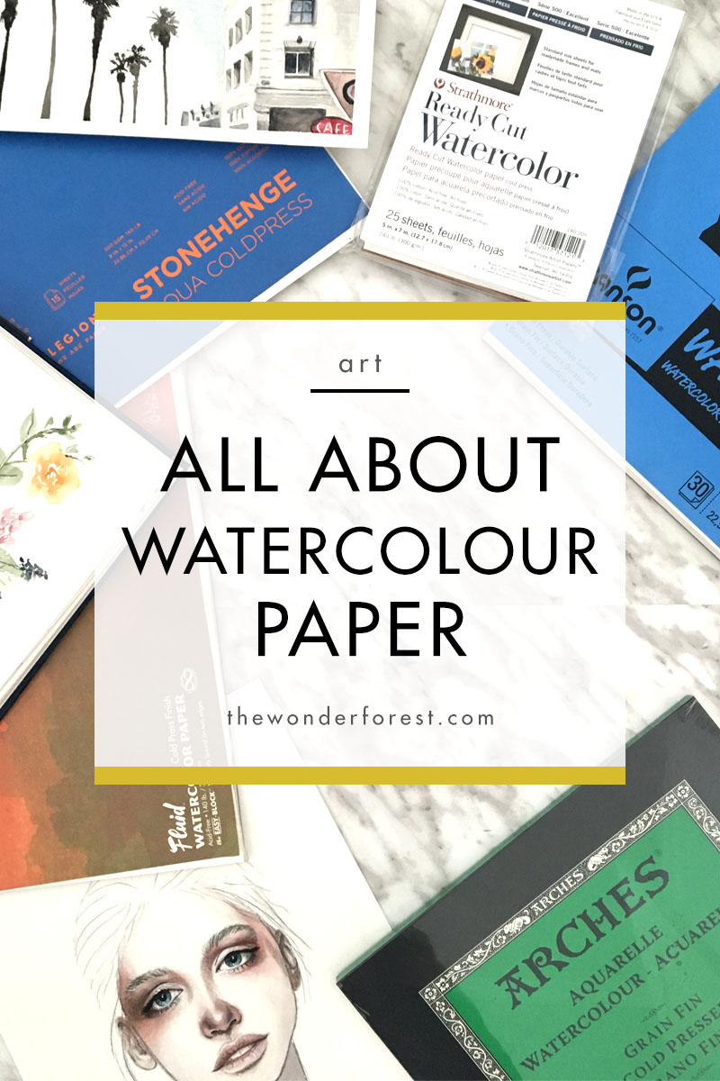 Everything you need to know about watercolour paper