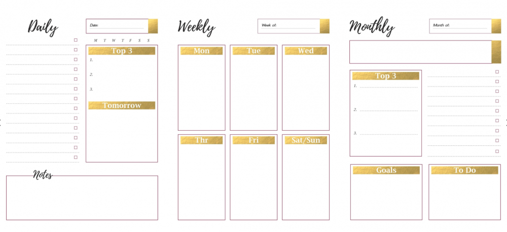 TECH TUESDAY: Get Organized With This Freebie Planner