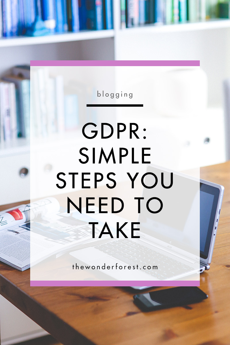 GDPR in Simple Terms: What All Bloggers and Website Owners Need To Do